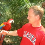 Visit the beautiful Bird Park in Copan and meet the Macaw up close