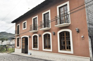 The Ixbalanque Spanish School is located in a beautiful colonial building